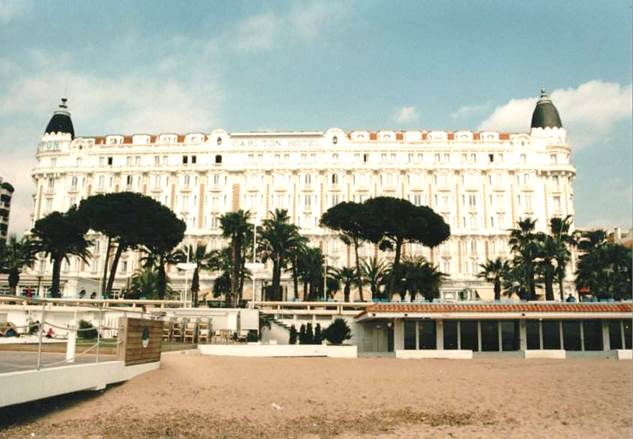 InterContinental Carlton Cannes — Wikipédia